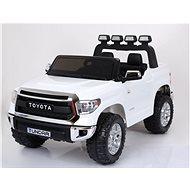 Toyota Tundra bílá - Dětské elektrické auto