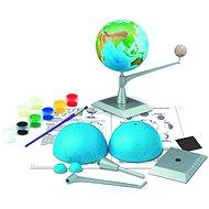 Země a měsíc model - Model