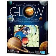 Svítící planety, 100 ks - Herní set