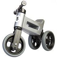 Funny Wheels New Sport 2v1 - šedé - Odrážedlo