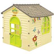 Zahradní domek malý s kytičkami - Dětský domeček