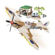 COBI 5545 WW 2 Supermarine Spitfire Desert Airstrip - Building Kit