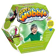 Super bublinomíč s pumpičkou - zelený