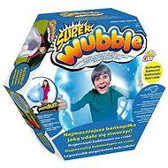 Super bublinomíč s pumpičkou - modrý - Nafukovací míč