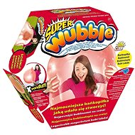 Super bublinomíč s pumpičkou - červený