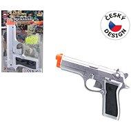 Kuličková pistole plast - Dětská pistole