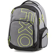 OXY Style GREY LINE Green - Školní batoh