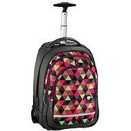 Trolley All Out Happy Triangle - Školní batoh