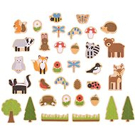Bigjigs Toys Magnets Forest animals - Children's bedroom decoration
