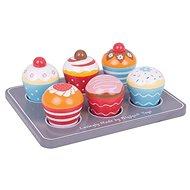 Bigjigs Toys Muffiny  - Dřevěná hračka
