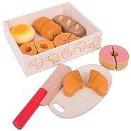 Bigjigs Toys Krájení pečiva v krabičce - Dřevěná hračka
