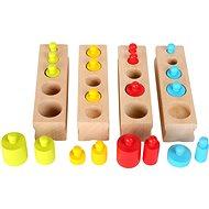 Small Foot Vkládací závažíčka barevná - Didaktická hračka