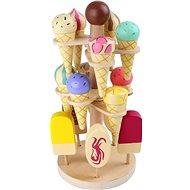 Small Foot Zmrzlinový podstavec - Dřevěná hračka