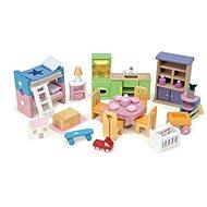 Le Toy Van Kompletní set nábytku do domečku - Nábytek pro panenky