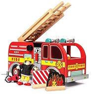 Le Toy Van Hasičské vozidlo s příslušenstvím - Dřevěná hračka