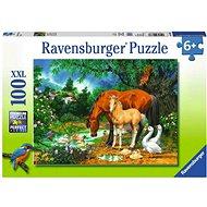 Ravensburger 108336 Kobyla a hříbě - Puzzle