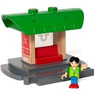 Brio World 33840 Nástupiště s vlastním hlášením - Příslušenství k vláčkodráze