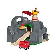 Brio World 33889 Jeřáb a horský tunel - Vláčkodráha