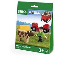 Brio World 33879 Farmář - Příslušenství k vláčkodráze