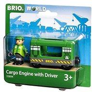 Brio World 33894 Nákladní lokomotiva se strojvedoucím - Příslušenství k vláčkodráze