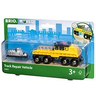 Brio World 33897 Vůz pro opravu kolejí - Příslušenství k vláčkodráze