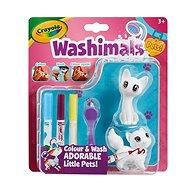 Crayola - Washimals blistr - kočky - Kreativní sada