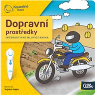 Kouzelné čtení  Dopr.prostředky - minikniha - Interaktivní hračka