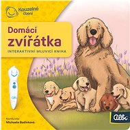 Kouzelné čtení  Domácí zvířata - minikniha - Interaktivní hračka