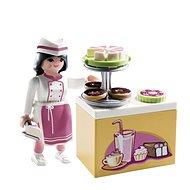 Playmobil 9097 Cukrářka s kuchyňkou - Stavebnice