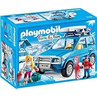 Playmobil 9281 Auto se střešním boxem - Stavebnice