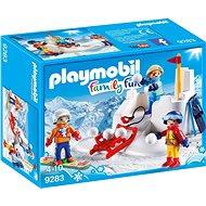 Stavebnice Playmobil 9283 Sněhová bitva