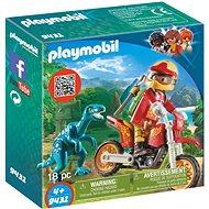 Playmobil 9431 Motorka s velociraptorem - Stavebnice
