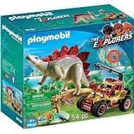 Playmobil 9432 Výzkumné auto se stegosaurem - Stavebnice