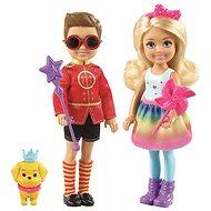 Barbie Kouzelný set Chelsea a Otto - Panenka