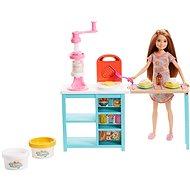 Barbie Stacie Snídaňový set - Panenka