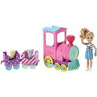 Barbie Chelsea s vláčkem - Panenka