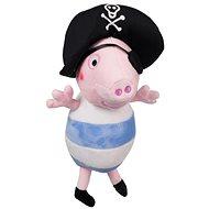 Plyšák Peppa Pig George pirát