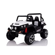 RSX bílé - Dětské elektrické auto