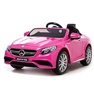 Mercedes-Benz S63 AMG - pink - Children's electric car