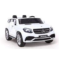 Mercedes-Benz GLS 63 - bílé - Dětské elektrické auto