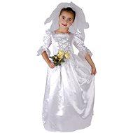 Kostým Nevěsta vel. M - Dětský kostým