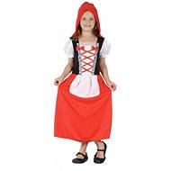 Šaty na karneval - Červená karkulka vel. S - Dětský kostým