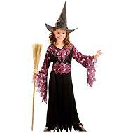 Šaty na karneval - Čarodějka vel. L - Dětský kostým