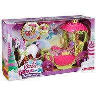 Barbie Kočár ze sladkého království - Herní set