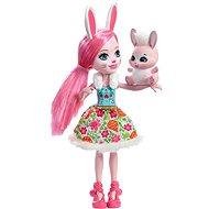 Enchantimals Panenka se zvířátkem Bree Bunny - Panenka