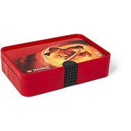 LEGO Ninjago Úložný box s přihrádkami - červená - Úložný box