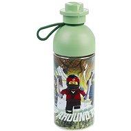 LEGO Ninjago láhev transparentní 0,5L - army zelená - Láhev na pití