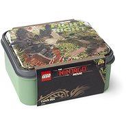 LEGO Ninjago box na svačinu - army zelená - Svačinový box