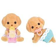 Sylvanian Families Baby pudlí dvojčata - Figurky