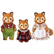 Sylvanian Families Rodina - rodina červené pandy - Figurky